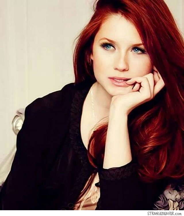 beautiful redhead girl