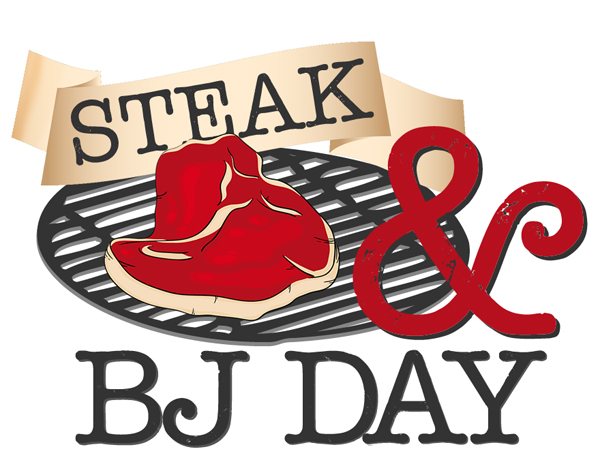 steak blowjob day Happy Steak & BJ Day!
