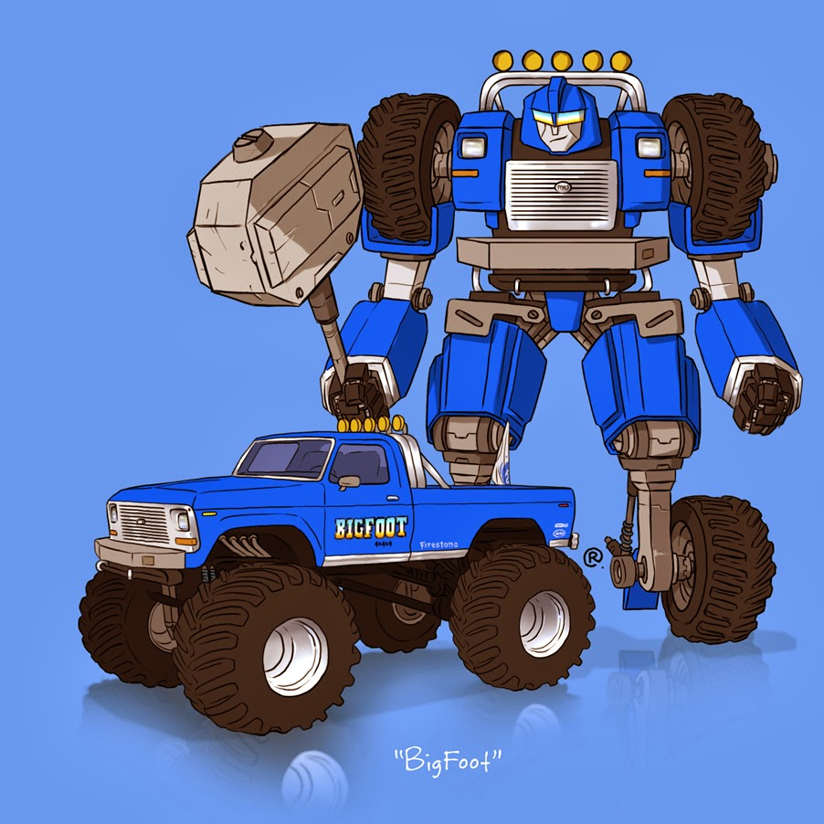 bigfoot transformer