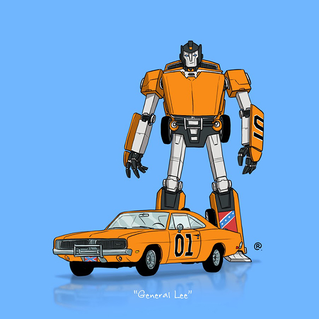 dukes of hazzard general lee transformer