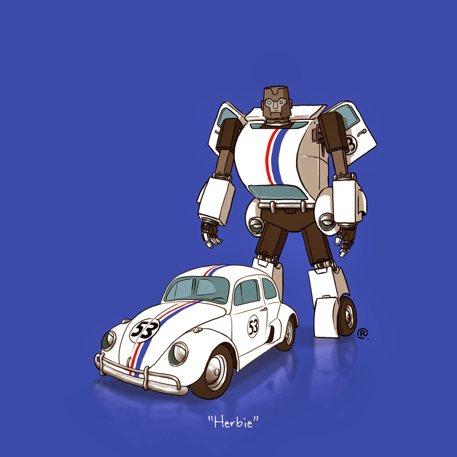 herbie the love bug transformer