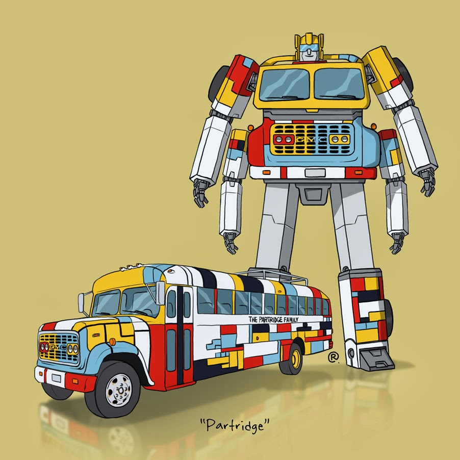 partridge family bus transformer