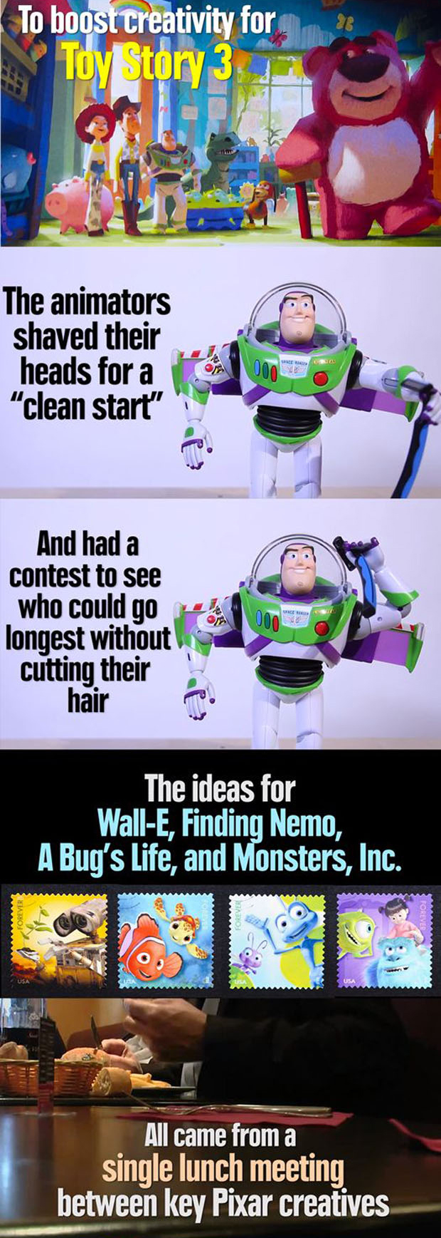 fun and interesting facts about pixar movies