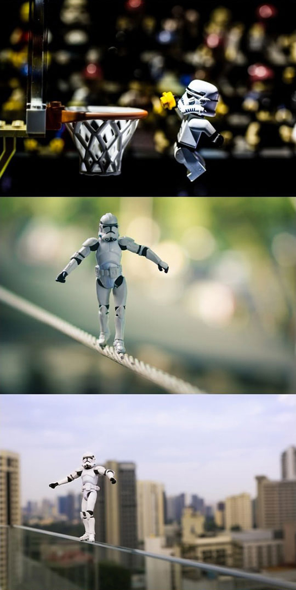 stormtroopers normal life