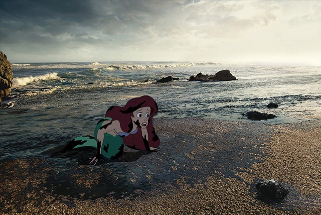Disney characters in unfortunate situations