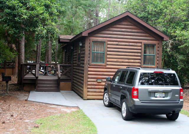 Cabins at Disney's Ft Wilderness