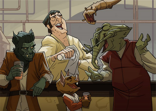 Star Wars cartoon