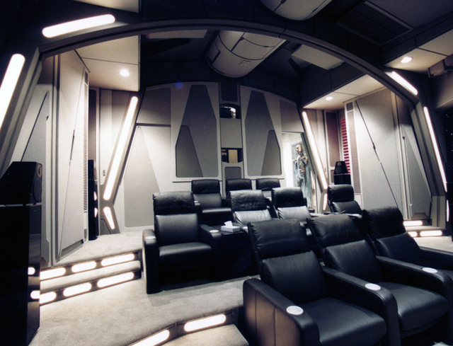 Uber Geek Builds An Incredible Death Star Themed Home