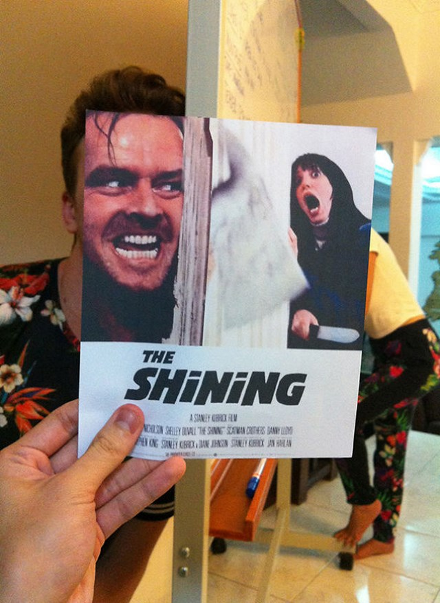 funny movie poster mashup