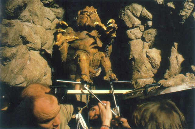 Star Wars Return of the Jedi behind the scenes
