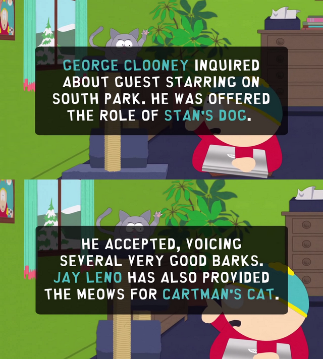 Fun South Park Facts