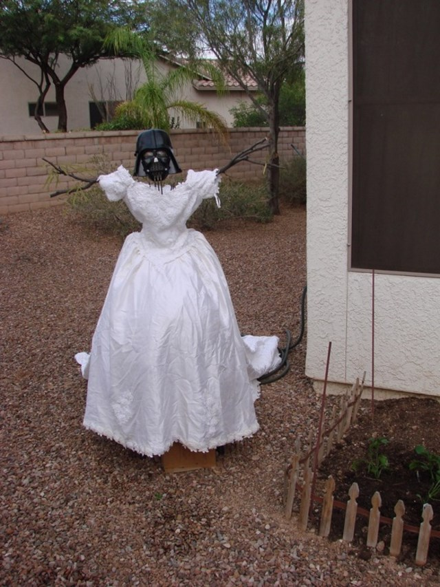 Fun things to do with ex wife's wedding dress