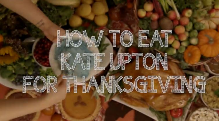 how to eat kate upton