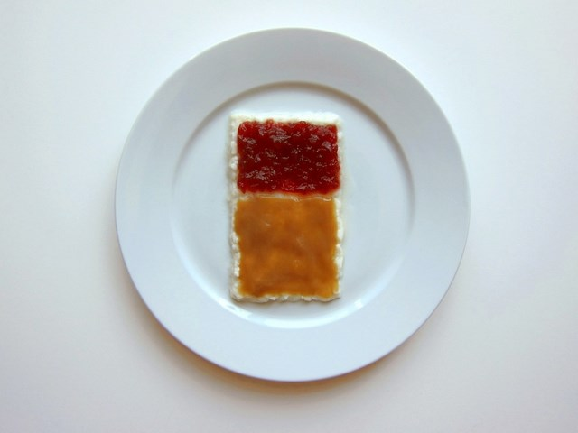 What Thanksgiving Dinner would look like if it was prepared by a famous artist- Mark Rothko