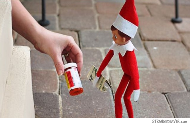 funny Elf On The Shelf