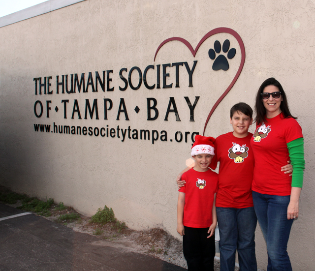 Team Beaver Helping The Tampa Humane Society