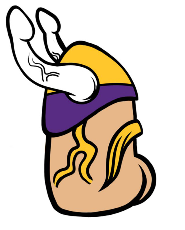 Minisota-Vikings-logo-dickified