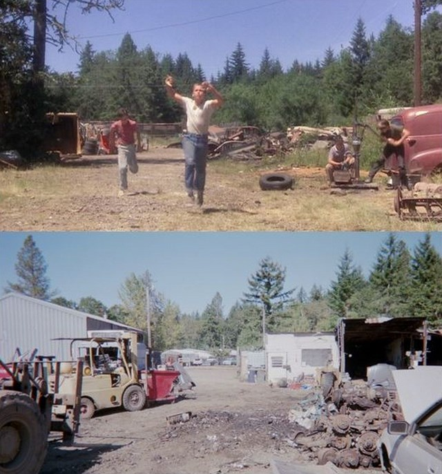 Stand By Me Filming Locations - Then and Now