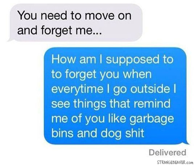 Strange and funny text messages