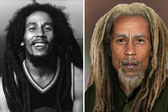 What Bob Marley would look like today