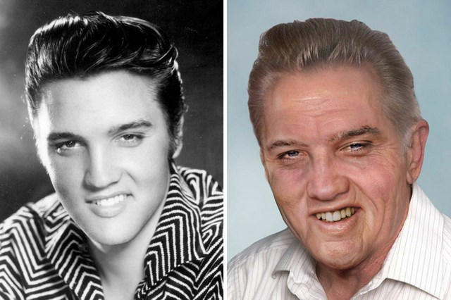 What Elvis Presley would look like today