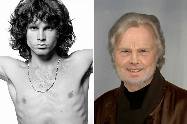What Jim Morrison would look like today