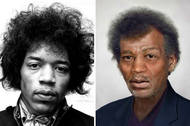 What Jimi Hendrix would look like today