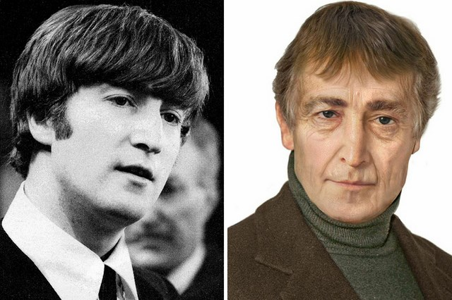 What John Lennon would look like today