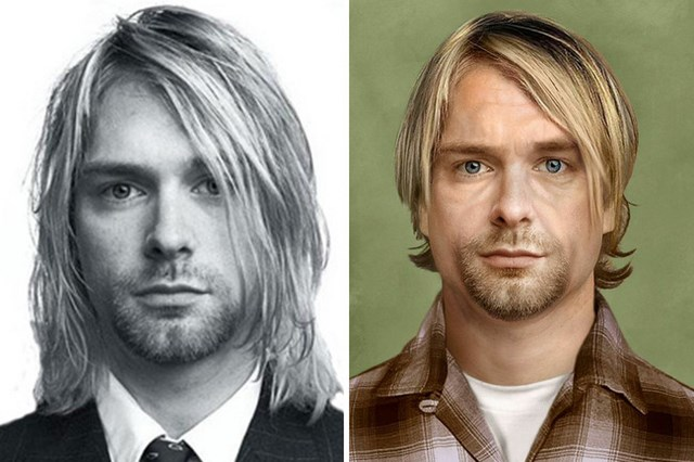 What Kurt Cobain would look like today