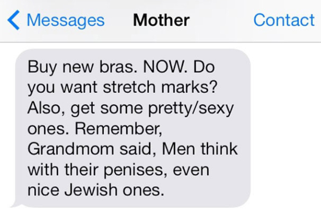 Fun Texts From A Crazy Jewish Mom