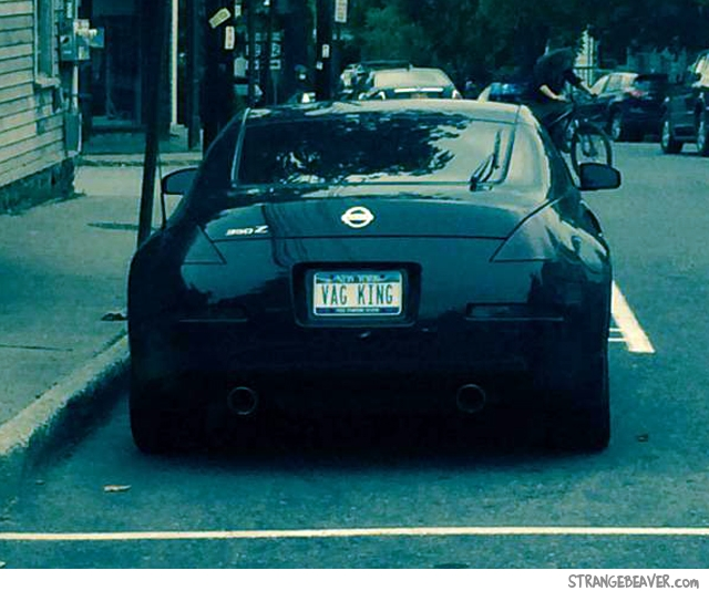 Funny license plates and vanity plates