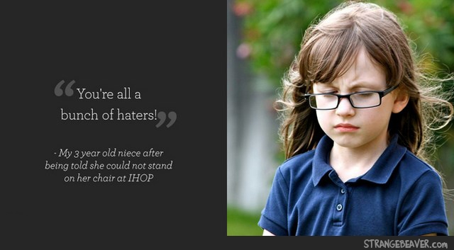 Kids Say The Meanest Things