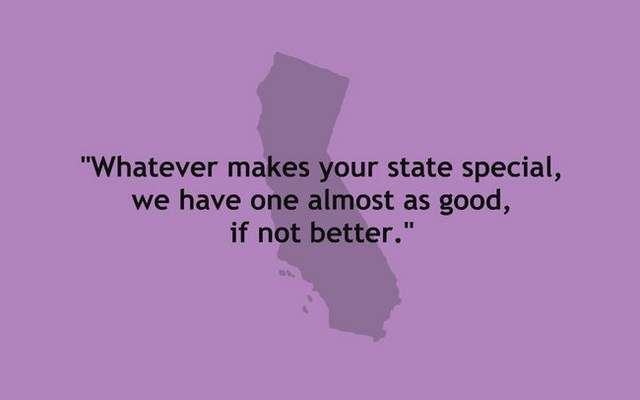 One sentence descriptions of us states