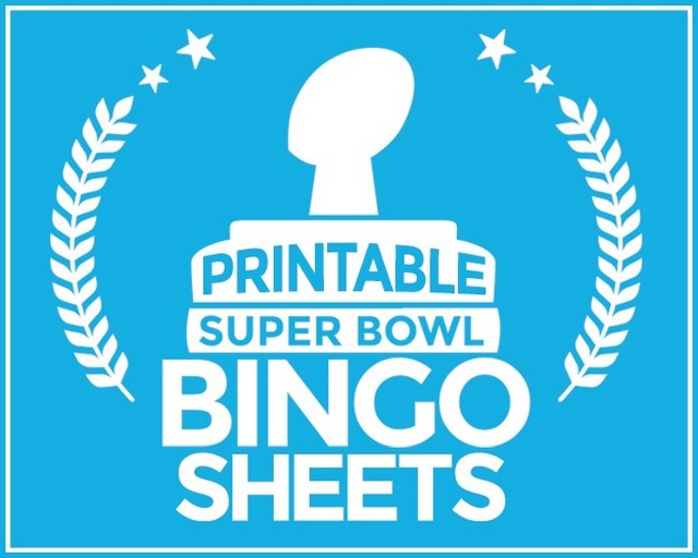 image regarding Printable Super Bowl Bingo Cards identified as Printable Tremendous Bowl Bingo Sheets Unusual Beaver
