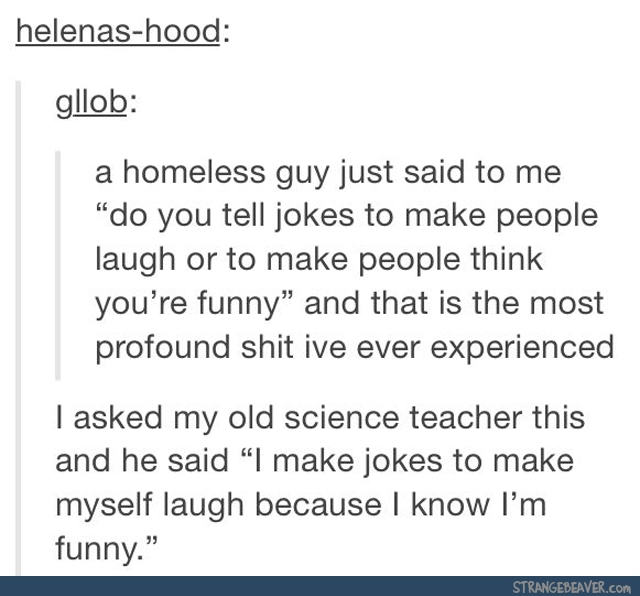 Funny tumblr post