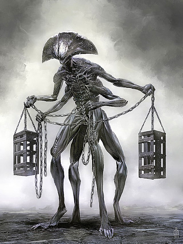 Monsters of the Zodiac Libra