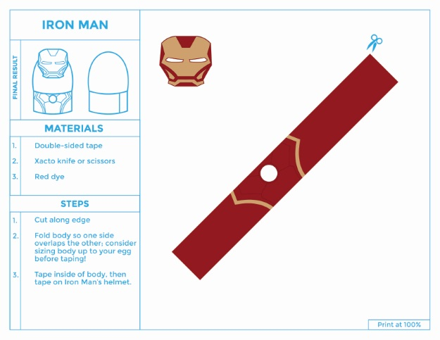 Iron Man Costume for Easter Eggs