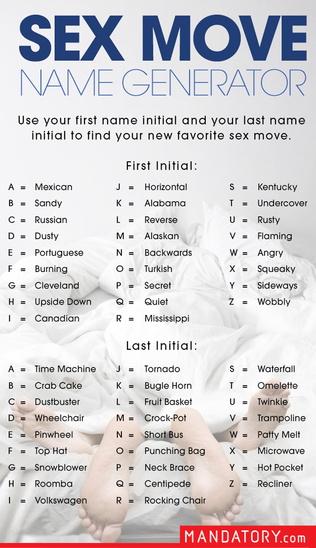 sex position name generator