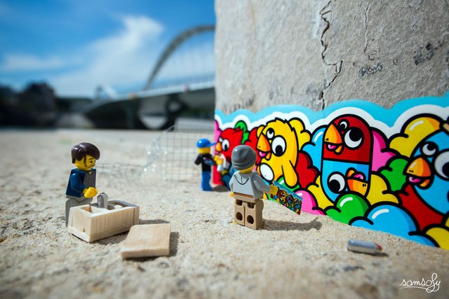 Legographie series by Samsofy