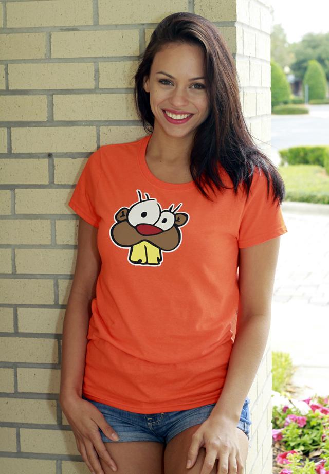 Orange Strange Beaver shirt