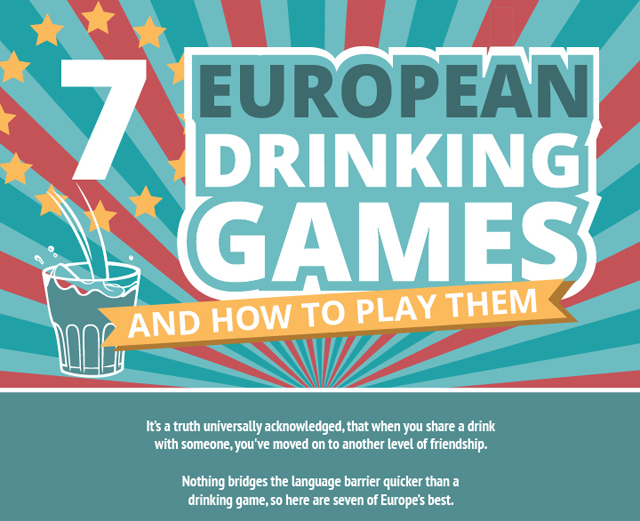 7 European Drinking Games and How to Play Them