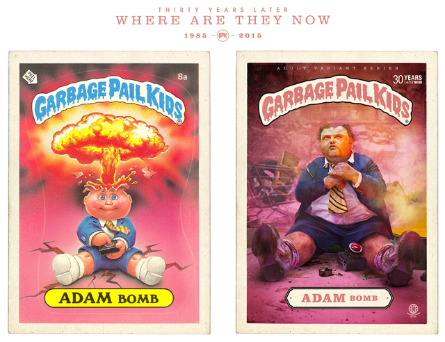 Adam Bomb - Garbage Pail Kids - Where Are They Now?