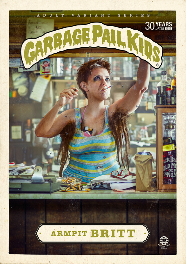Armpit Britt - Garbage Pail Kids - Where Are They Now?
