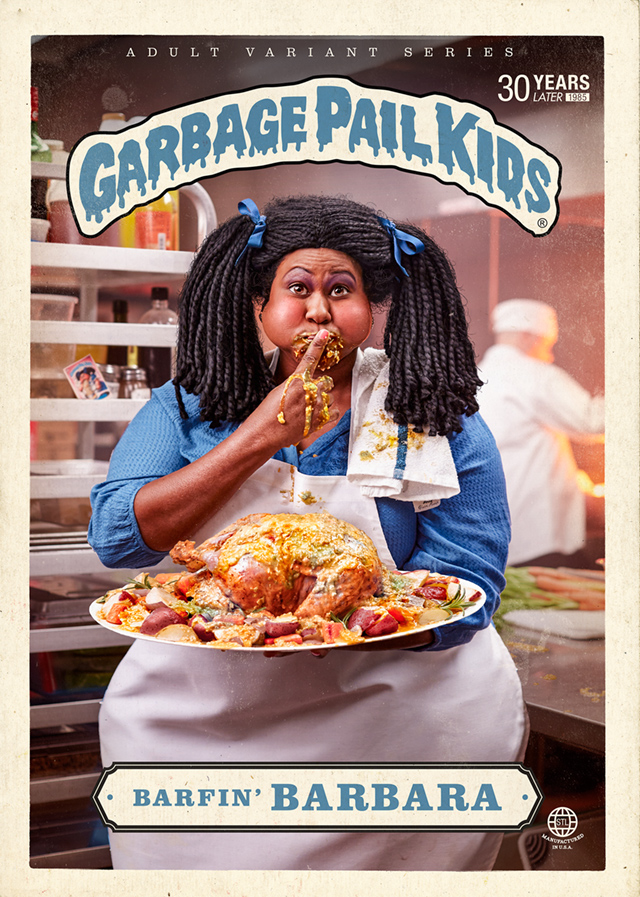 Barfin Barbara - Garbage Pail Kids - Where Are They Now?