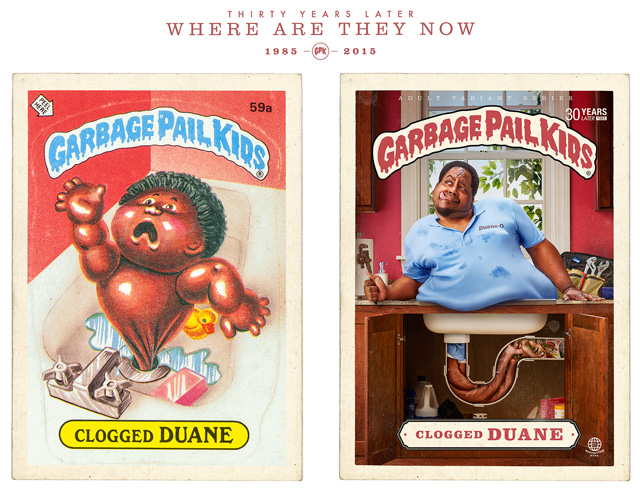 Clogged Duane - Garbage Pail Kids - Where Are They Now?