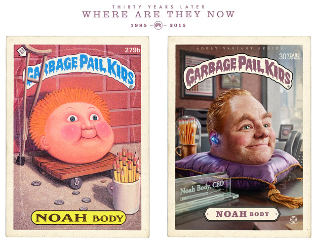 Noah Body - Garbage Pail Kids - Where Are They Now?
