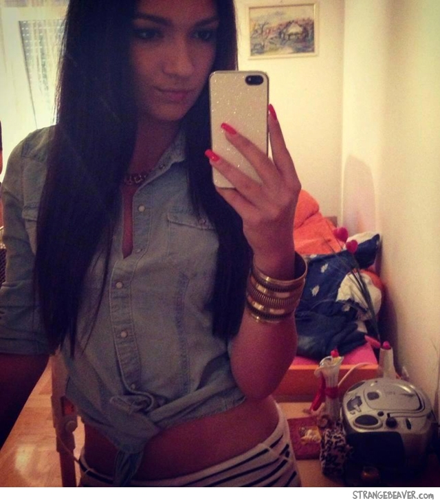 Фото девушек в домашних условиях в зеркале  337
