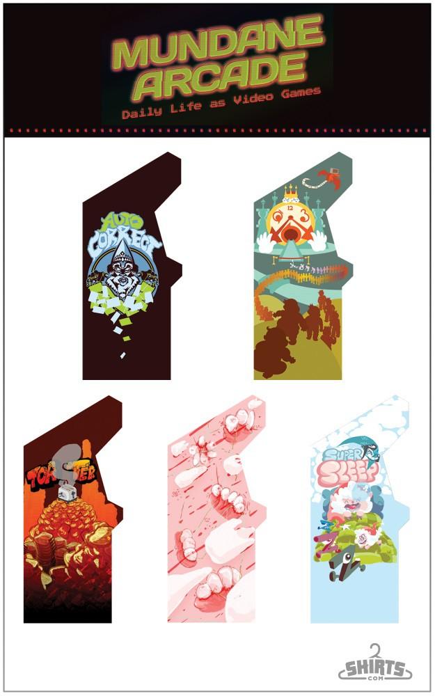 mundane arcade poster
