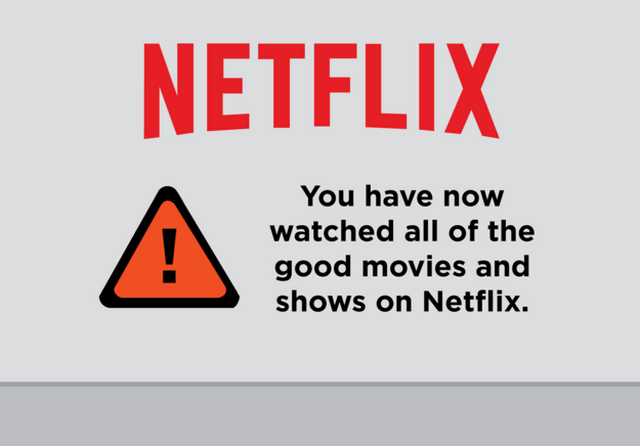 More helpful Netflix messages