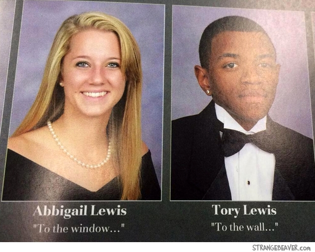 Funny yearbook quote